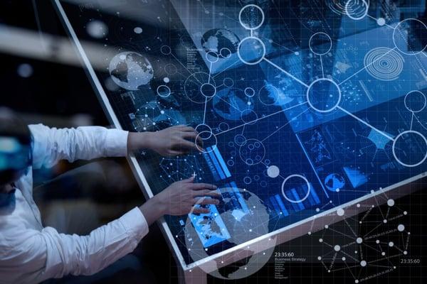 Illustration du concept de data