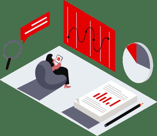 Illustration du concept d'unification des données