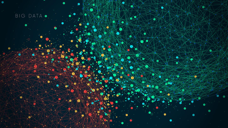Illustration du concept de big data